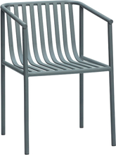 Hübsch havestol i grå - jern