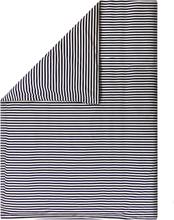 Marimekko Tasaraita pussilakana 150 x 210 cm, luonnonvalkoinen - tummansin