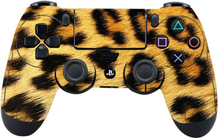 Sony PlayStation 4 - PS4 controller durable adhesive sticker - Leopard Camo