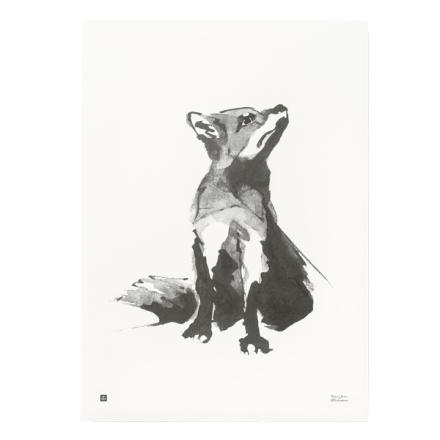 Teemu Järvi Illustrations Kettu juliste, 50 x 70 cm