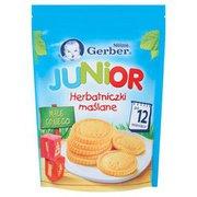 Gerber - Herbatniki Junior herbatniczki maślane po 12 miesi...