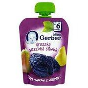 Gerber - Deserek gruszka, suszona śliwka po 6 miesiącu