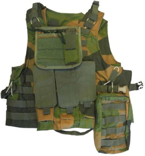 GO! - Plate Carrier MOLLE Vest - Norsk Camo