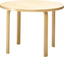 Artek Aalto pöytä 90A, koivu - valkoinen