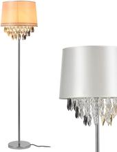 [lux.pro]® Elegantti lattiavalaisin - Royality 1xE 27 - 60W - valkoinen / krominvärinen