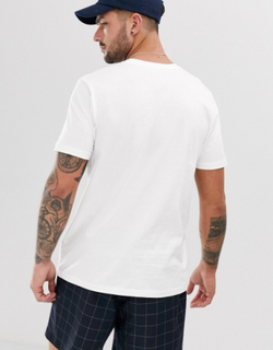 Topman 2 pack crew neck t-shirts in white