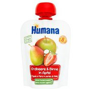 Humana - Mus jabłko-gruszka-truskawka po 8 miesiącu