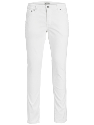 JACK & JONES Glenn Original Akm 696 White Trousers Men White