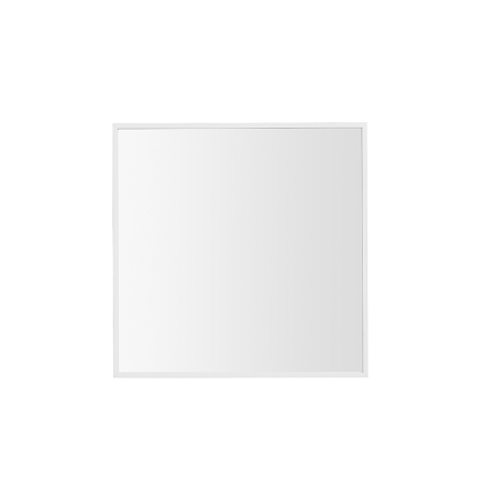 By Lassen View peili, pieni, valkoinen