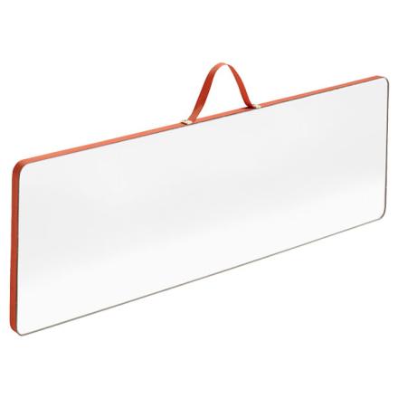 Hay Ruban Rectangular peili, L, punainen