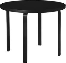 Artek Aalto pöytä 90A, kokomusta