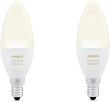Philips Hue White ambiance 6W E14 - 2-pack