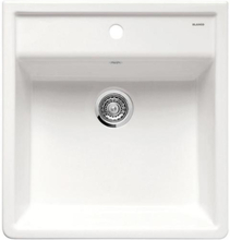 Blanco Panor 60 UX Kjøkkenvask 60x63 cm, Keramisk Porselen, Krystall Hvit