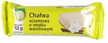 Auchan - Chałwa sezamowa wanilia