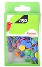 Auchan - Pinezki kolorowe 150 szt.