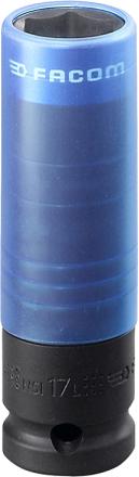 "Facom NSI.17L Krafthylsa 1/2"", 17mm"