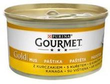 Gourmet - Karma dla kota mus z kurczakiem