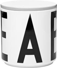 Design Letters Arne Jacobsen purkki, harmaa kansi