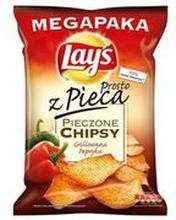 Lay's - z Pieca Pieczone chipsy ziemniaczane o smaku grill...papryki 200g