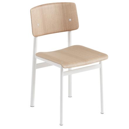 Muuto Loft tuoli, valkoinen - tammi