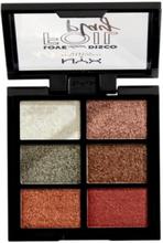 NYX Professional Makeup Foil Play Cream Pigment Palette Get Down Ögonskuggor