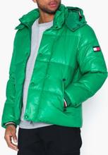 Tommy Hilfiger Shiny Hooded Bomber Takit Green