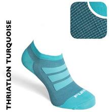 No Show Seamless Socks Nilit Breeze Turkos Herr - 42-44
