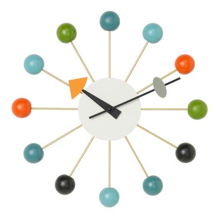 Vitra Ball Clock seinäkello, monivärinen