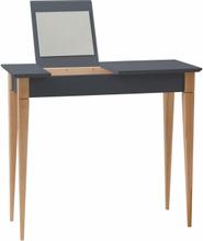 MIMO Schminktisch mit Spiegel - 105x35cm Graphit - Graphit \ 105 cm