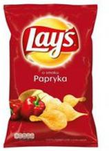 Lay's - Chipsy ziemniaczane o smaku papryki 140g