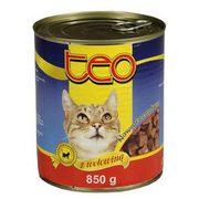 Teo - Karma dla kota z wołowiną