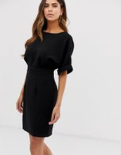 ASOS DESIGN wiggle miniklänning-Svart