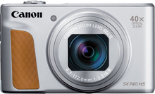 Canon Powershot SX740 HS Digitalkameras - Silber (Internationale Ver.)