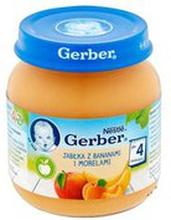 Gerber - Deser jabłka, morele i banany