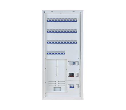 Skap MRE 480 4 Rad m/Ramme og Målerfelt