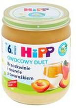 HiPP - Deser brzoskwinia, morela i twarożek