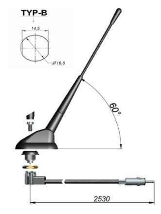 Antena ogólna 632-018-011