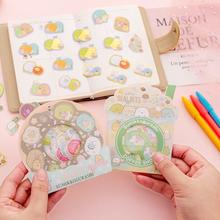 40 Sheets /Bag Kawaii Sumikko Gurashi Decorative Stickers Computer Notebook Decor