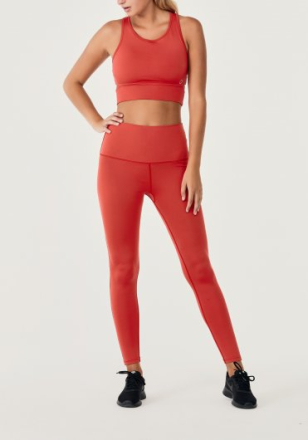 Eden tights (Färg: Scarlet - röd, Storlek: XL)