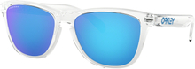 Oakley Frogskins Crystal Clear w/ PRIZM Sapph