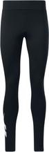 Reebok - CL PF Logo Leggings -Leggings - svart