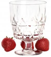 Picknick plastglas 4-pack
