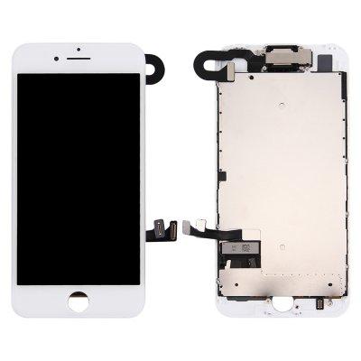 IPhone 7 Skärm Komplett med Kamera och Smådelar - Vit