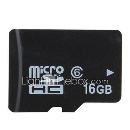 16 Gt Luokka 6 Micro SD / TF SDHC-muistikortti