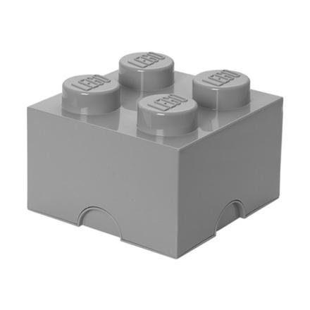 LEGO, Förvaringsbox 4, stone grey
