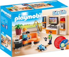 Playmobil City Life 9267, Vardagsrum