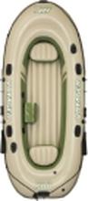Bestway 65001, Rejse/fritid, Oppustelig båd, Grøn, PVC, 3 person(er), 250 kg