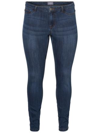 JUNAROSE Slim Fit Jeans Women Blue