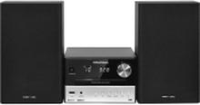 Grundig CMS 3000 BT DAB+ - Mikrosystem - 2 x 15 Watt - sølv/sort