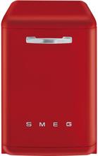 Smeg 60 CM Diskmaskin i retrostil rödA+++A